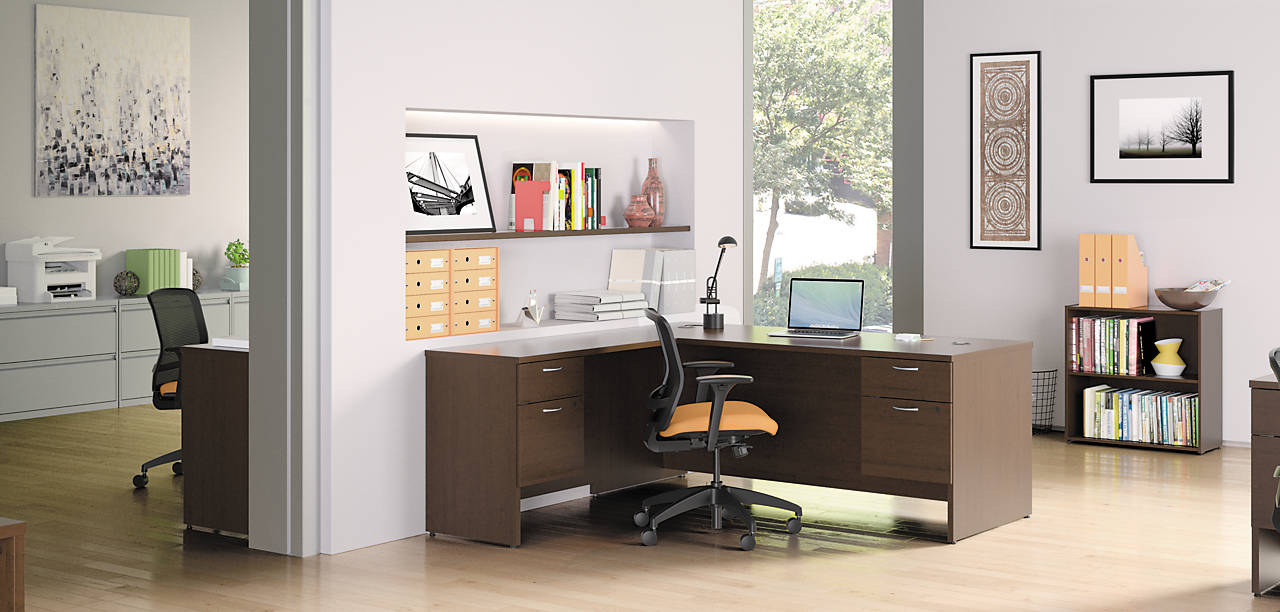 101 Series L Shaped Desk