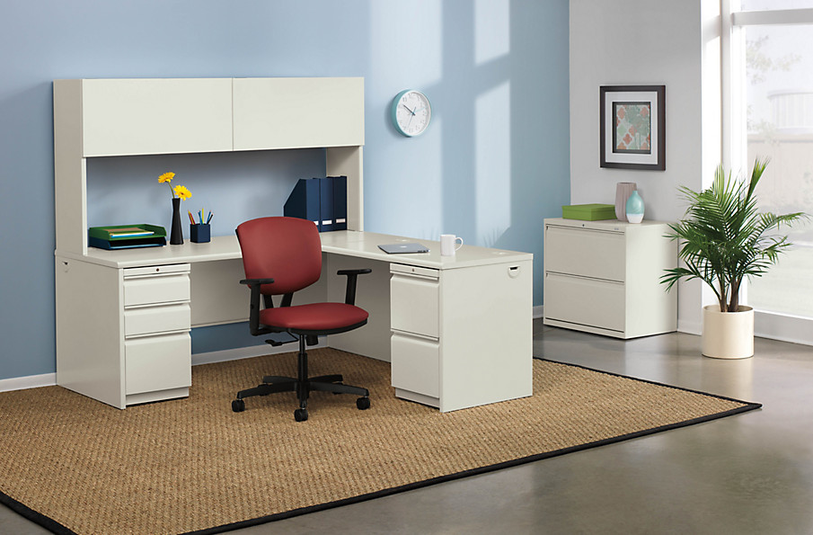 And To Help Keep You Organized We Ve Outed 38000 Series Desks With Integrated Wire Management Optional Power Hubs Less Mess Means More Space For