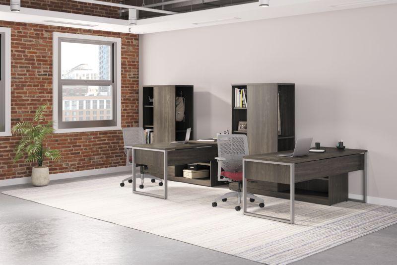 10500 Desks in an Office