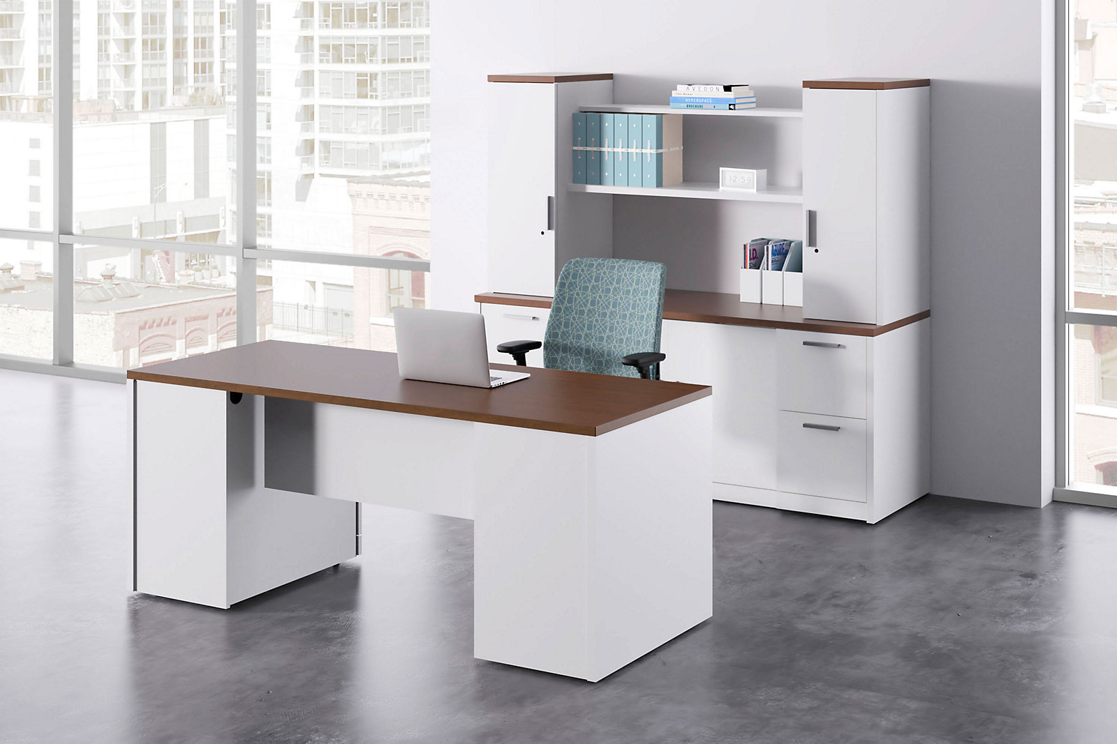 10500 Series | HON Office Furniture on hon 10700 series credenza, l-shaped executive desks with credenza, hon park avenue couch set, hon storage cabinet hutch, hon executive kneehole credenza, hon lock kit, hon desk with return,