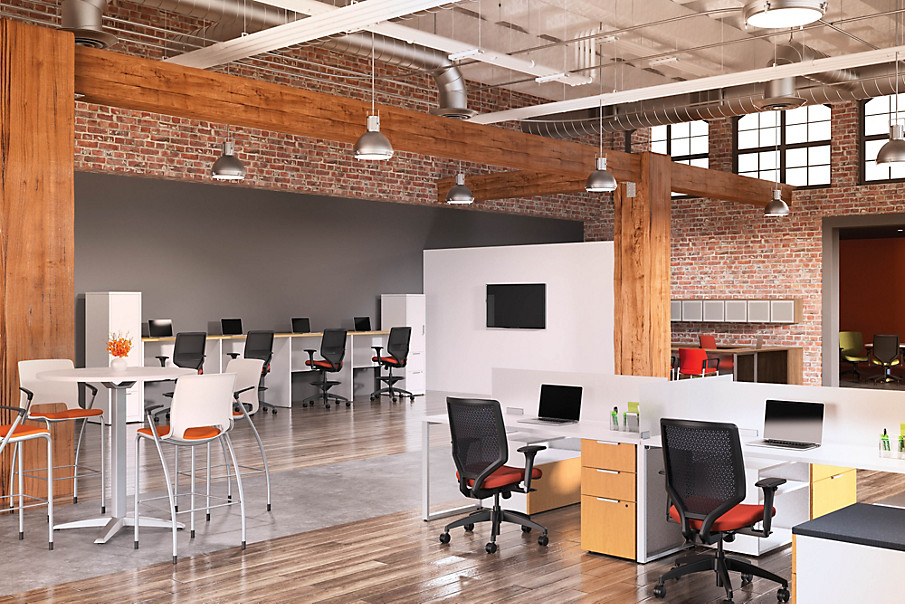 Solve Chairs in an open office