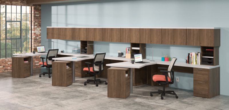 Valido Desk in an Open Office Space