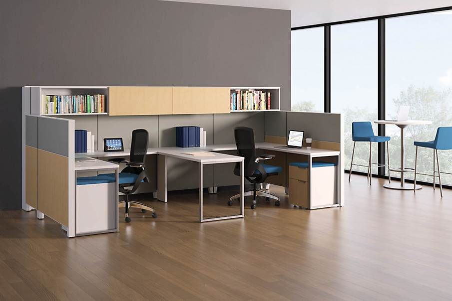 Abound Workstations with Ceres Chairs