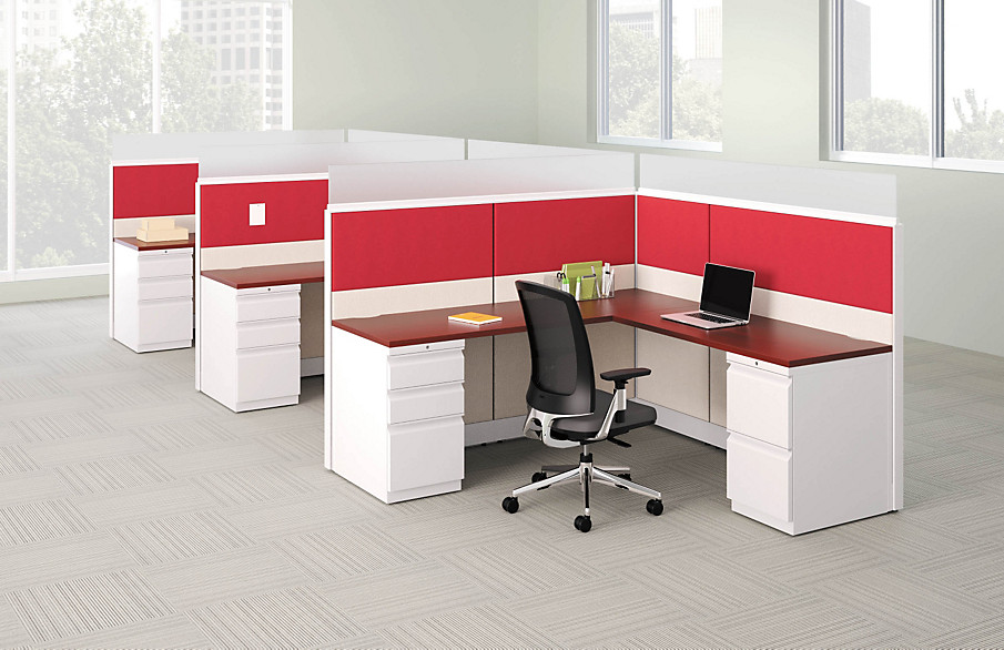 Accelerate Panels with Lota Office Chairs