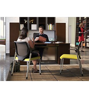 Business Office Furniture in an open space