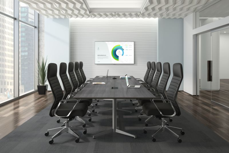 Merit Chairs in a Board Room