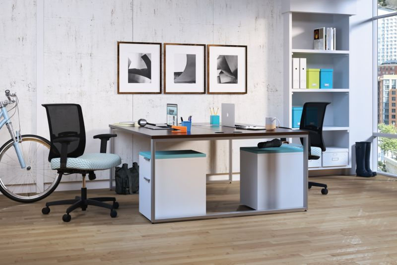 Voi dual office desk