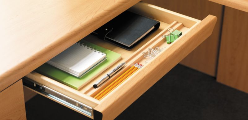 Wooden Desk Center Drawer