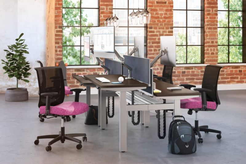 Empower Height Adjustable with Convergence Chairs