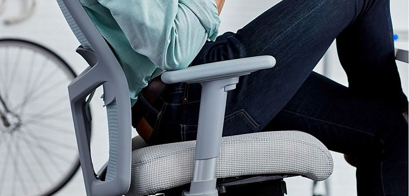 Ignition task chair with person sitting in seat