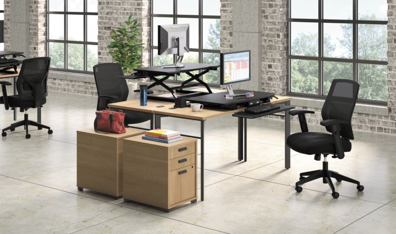 Manage Desk with Crio Office Chairs