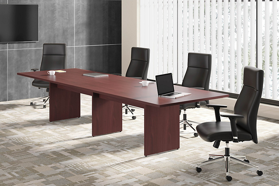 basyx by HON BL Series Conference Table with HVL108 Conference Chair