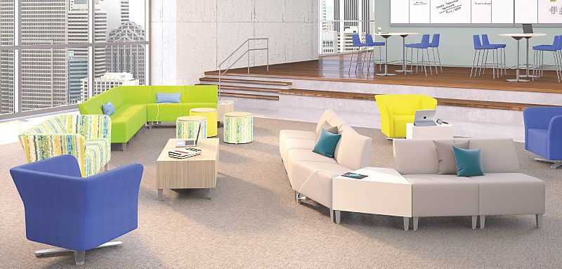 Flock Lounge Chairs
