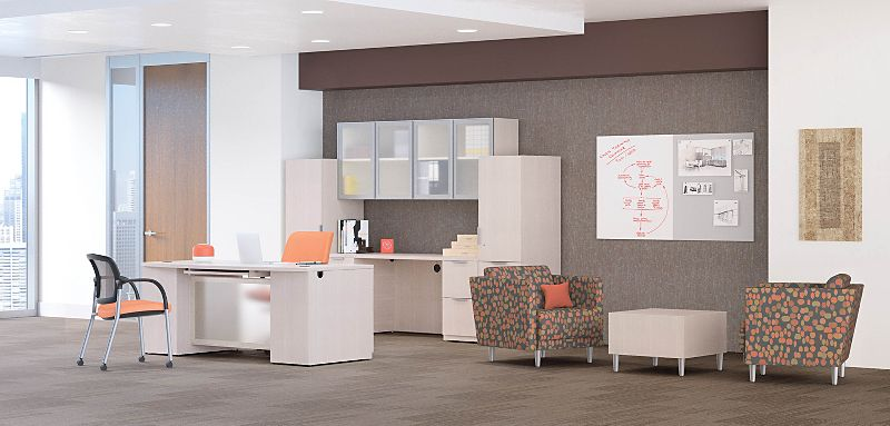 Concinnity Laminate Desk in Executive Office