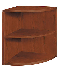 HON 10500 Series Bookcase Brown Front Side View H105520.JJ