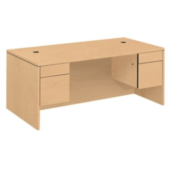 10500 Series Double Pedestal Desk H10593 Hon Office Furniture