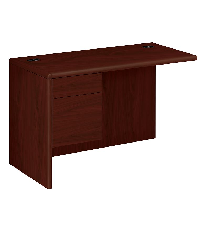 HON 10700 Series Left Return Mahogany Front Side View H10716L.NN