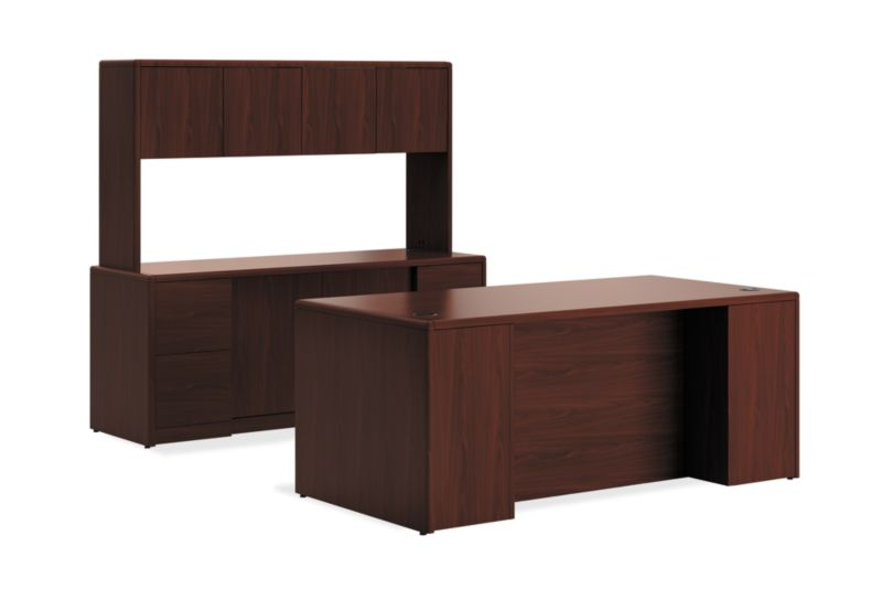 10700 Series Single Left Pedestal/Storage Credenza/Stack On H10772LS | HON  Office Furniture