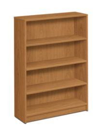 HON 1870Series 4 Shelf Bookcase Front View Harvest H1874.C