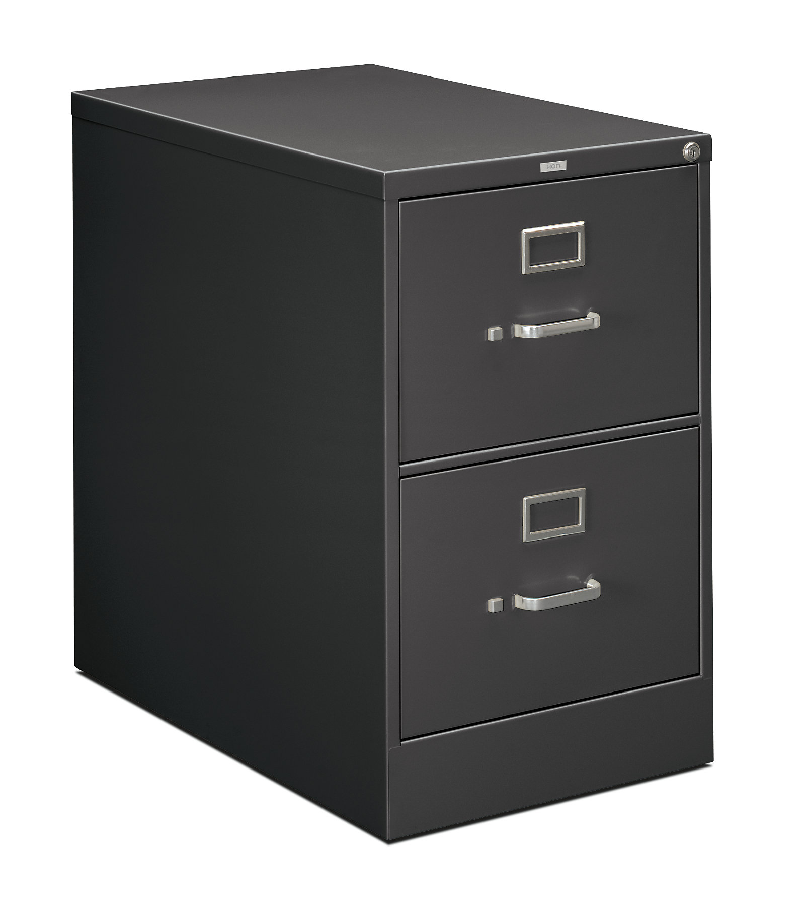p front black view hon side furniture cabinet files file office vertical drawer storage
