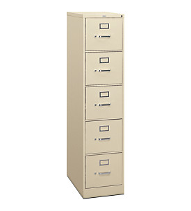 5-Drawer Vertical File