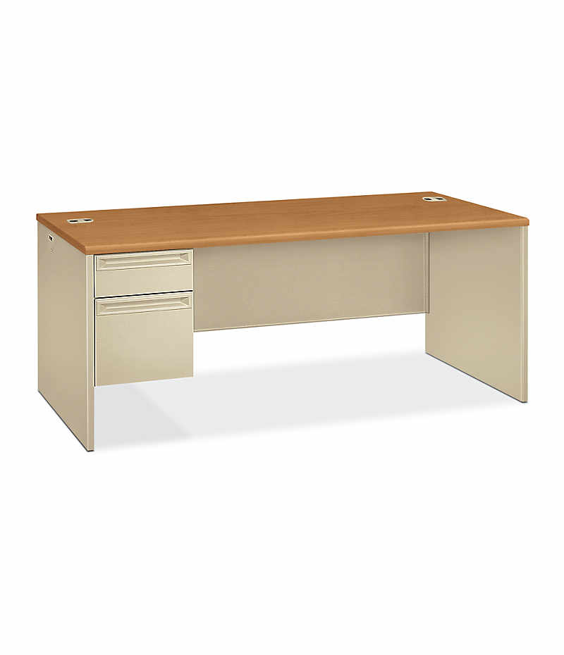 38000 Series Left Pedestal Desk H38294l Hon Office Furniture