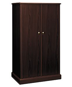 HON 94000 Series Personal Tower Brown Front Side View H94430.NN