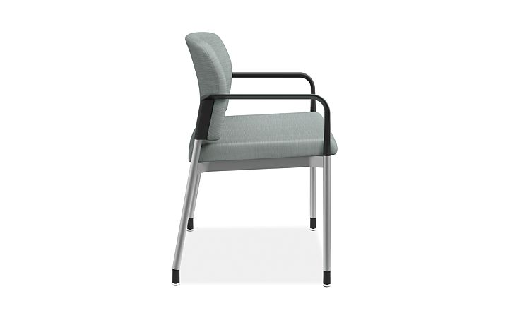 HON Accommodate Bariatric Chair Compass Tide Fixed Arms Side View HSB50.F.E.COMP96.P6N