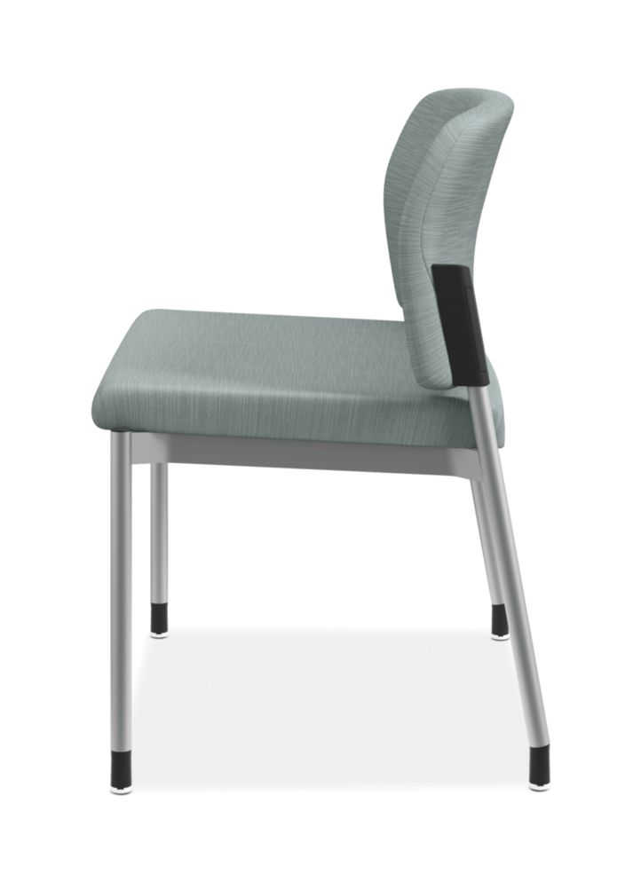 HON Accommodate Bariatric Chair Compass Tide Armless Side View HSB50.F.E.COMP96.P6N