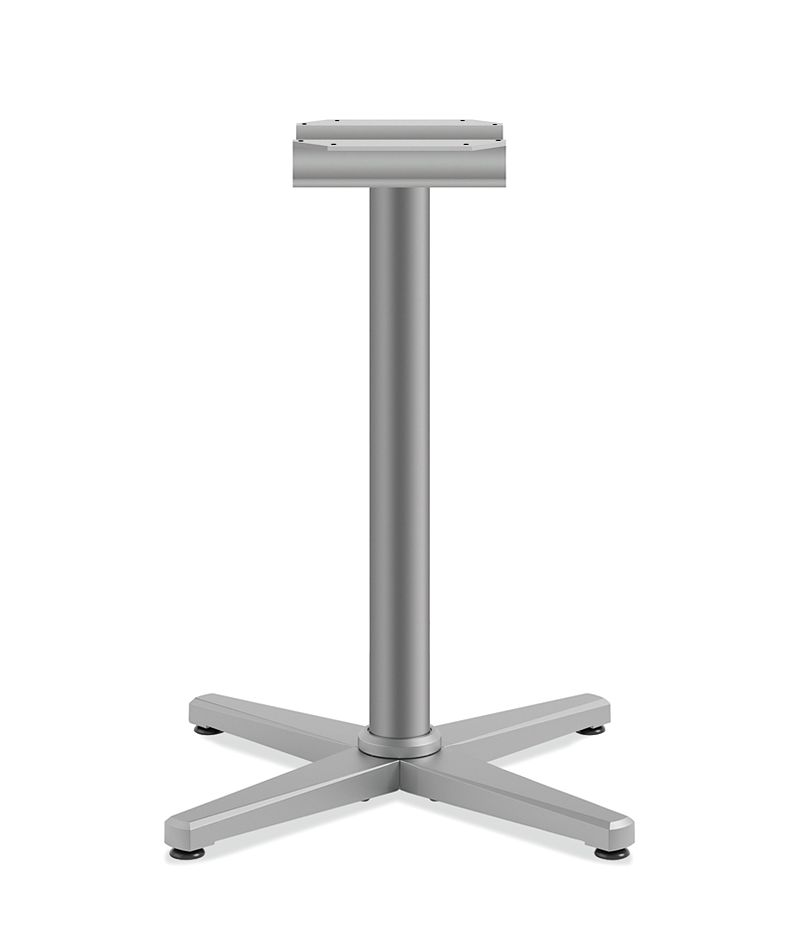 """HON Arrange Seated Height X-base for 36"""" Surfaces Platinum Color HCT29MX.P6N"""
