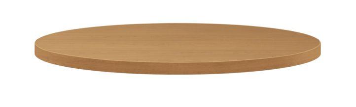 "HON Arrange Round Table top 30"" Diameter Harvest Side View HCTRND30.N.C.C"
