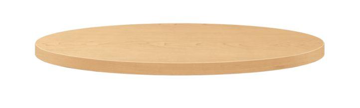 "HON Arrange Round Table top 30"" Diameter Natural Maple Side View HCTRND30.N.D.D"