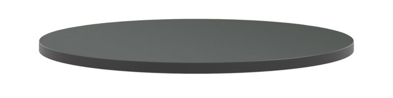 "HON Arrange Round Table Top 36"" Diameter Charcoal Color HCTRND36.N.A9.S"