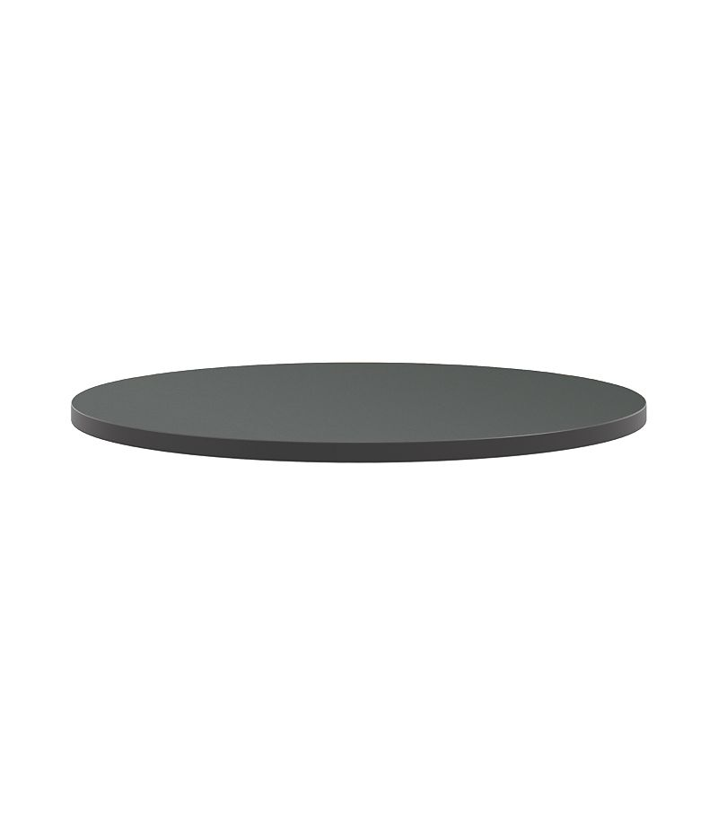 "HON Arrange Round Table Top 36"" Diameter Charcoal Color HCTRND36.N.A9.S"