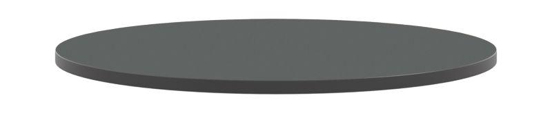 "HON Arrange Round Table Top 42"" Diameter Charcoal Color HCTRND42.N.A9.S"
