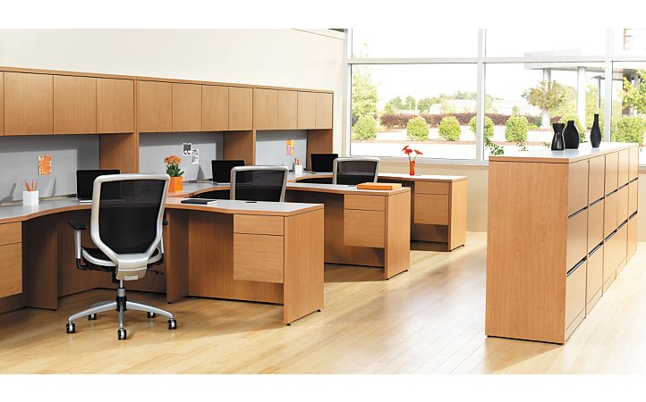 Boda Chairs in Open Office Environment