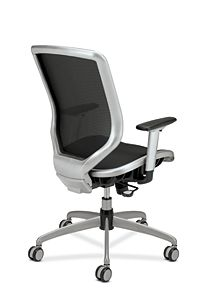 HON Broda Mesh Back and Seat Task Chair Black Mesh Back Side View HMH02.MST1.C