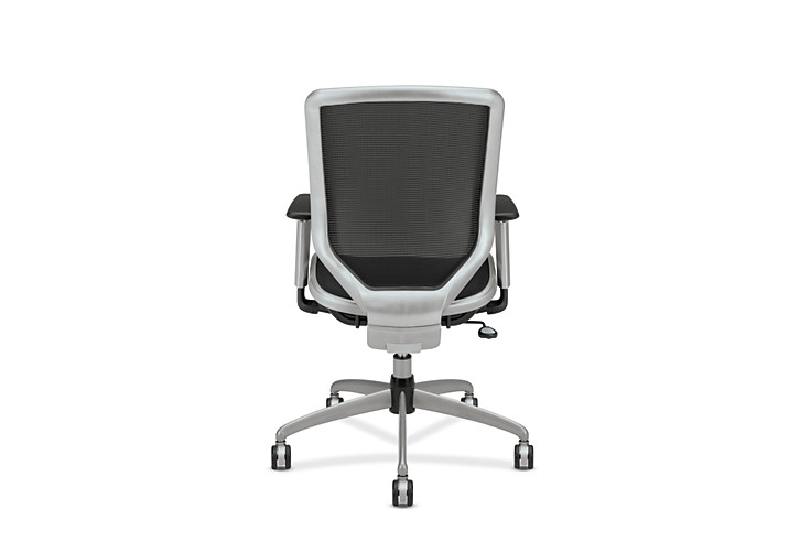 HON Broda Mesh Back and Seat Task Chair Black Mesh Back View HMH02.MST1.C