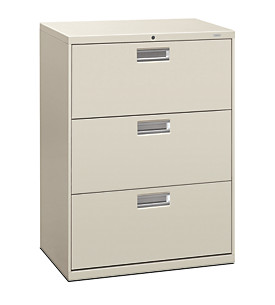 600 Series 3-Drawer Lateral File