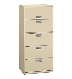 600 Series 5-Drawer Lateral File