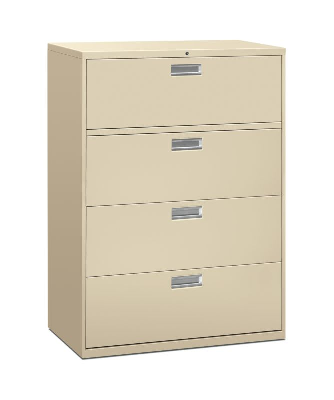 brigade 600 series 4 drawer lateral file h694 hon office furniture rh hon com fireproof lateral file cabinet 4 drawers fireproof lateral file cabinet 4 drawers