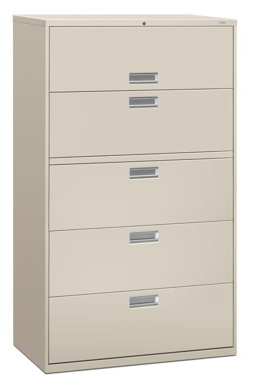 Brigade 600 Series 5-Drawer Lateral File H695 | HON Office Furniture