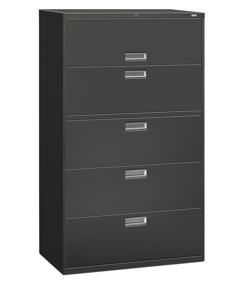 600 Series 5 Drawer Lateral File H695