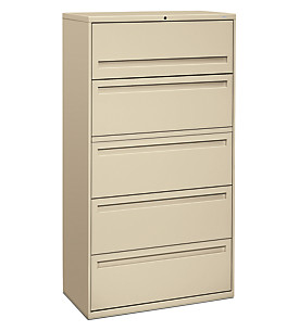 700 Series 5-Drawer Lateral File