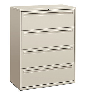 700 Series 4-Drawer Lateral File