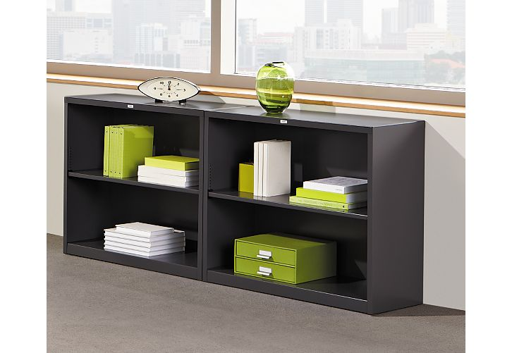 Brigade 2 Shelf Bookcase HS30ABC