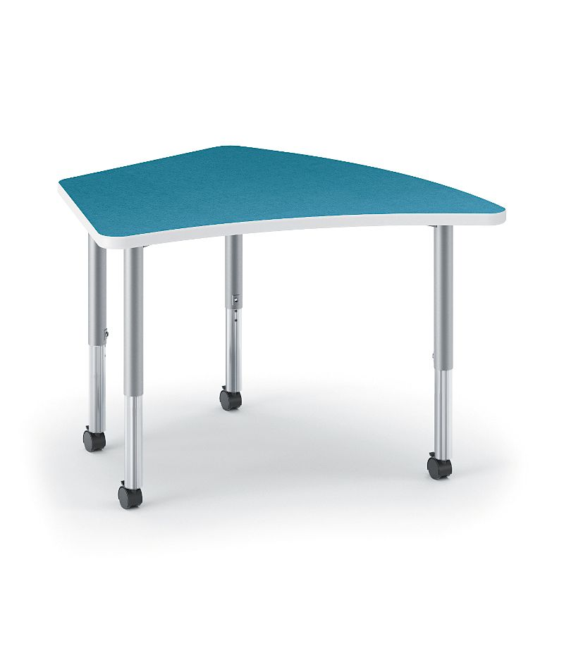 HON Build Kite-Shaped Table Blue Agave HESA-2440E-4L.N.LBA1.K.T1