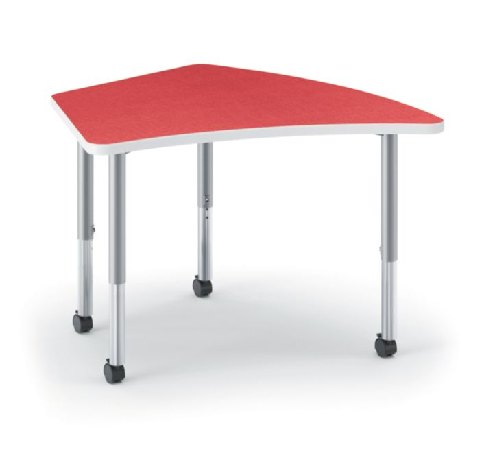 HON Build Kite-Shaped Table Pomegranate HESA-2440E-4L.N.LBG1.K.T1