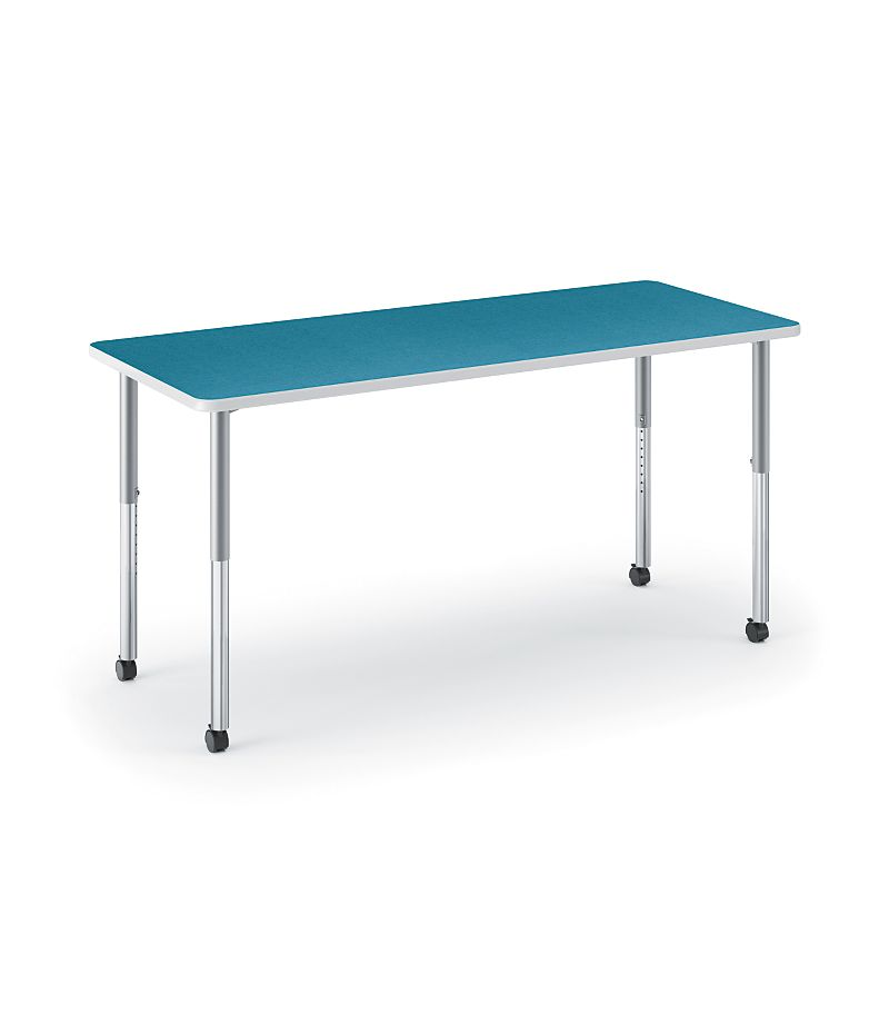 HON Build Rectangle Table Blue Agave HETR-3060E-4L.N.LBA1.K.T1