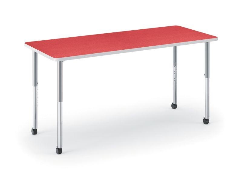 HON Build Rectangle Table Pomegranate HETR-3060E-4L.N.LBG1.K.T1